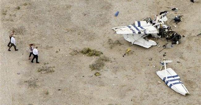 Small plane crash near Utah-Nevada border kills 4