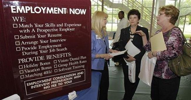 Fewer people applied for unemployment benefits