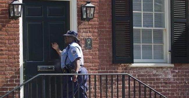 Door ajar but no burglary at ex-IMF head's DC home