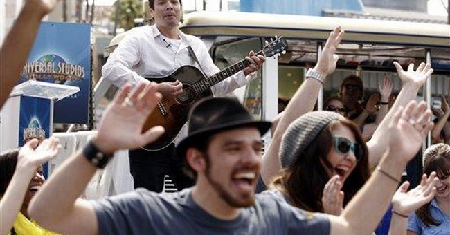 Jimmy Fallon is new face, voice of studio tour