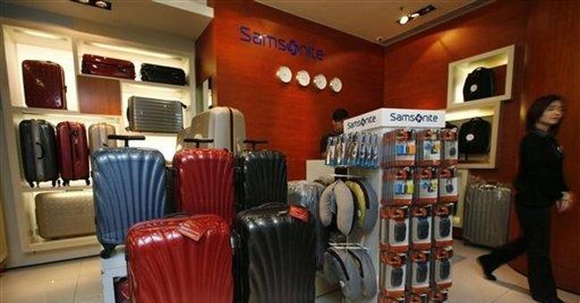 Luggage maker Samsonite plans IPO in Hong Kong