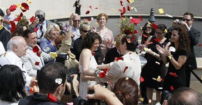Civil union ceremonies held for Chicago couples