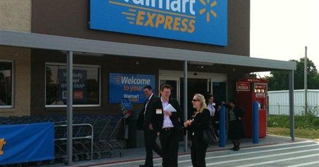 Wal-Mart unveils tiny Walmart Express in Arkansas