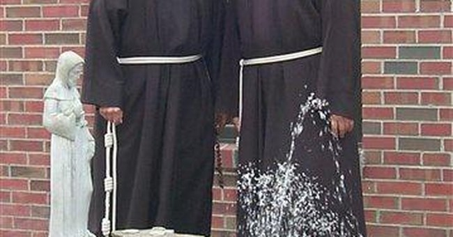 NY-born twin friars die on same day at age 92