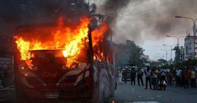 Anti-government strike hits Bangladesh's capital