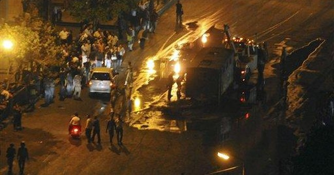 Egypt police station attacked after man dies