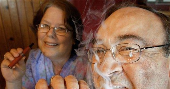 E-cigs: No smoke, but some areas are banning them