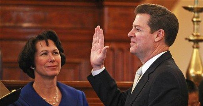 Moderation wanes as Kan. governor gets fast start