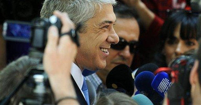 Socialist setback in Portugal polls after bailout