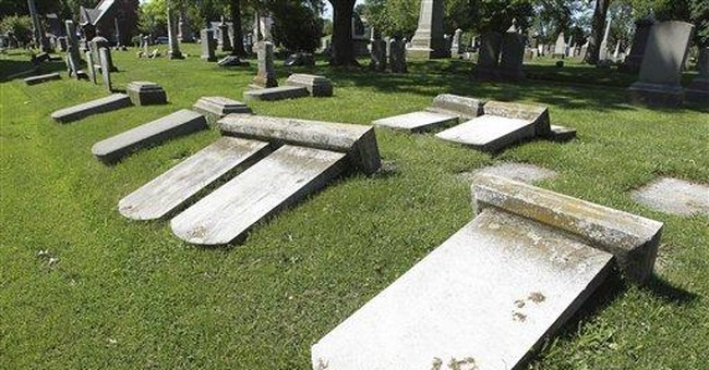 Vandalism in old Newport cemetery provokes outrage
