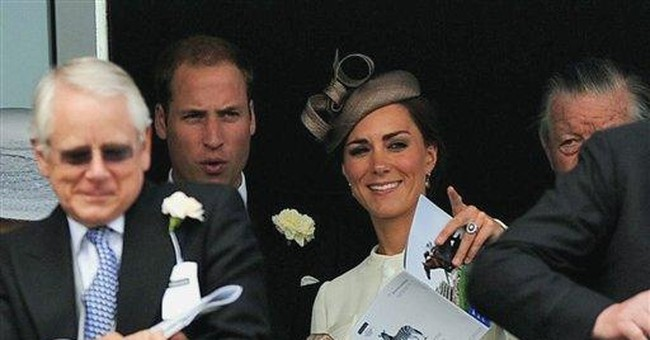 Royals shine at Derby though queen's horse loses