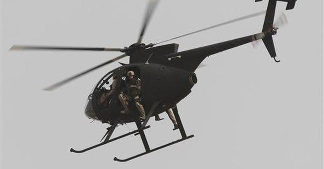 Rocket barrage kills 5 US soldiers in Baghdad