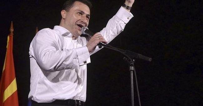 Macedonia conservatives win snap poll