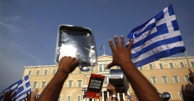 ECB: Having state property means Greece is solvent