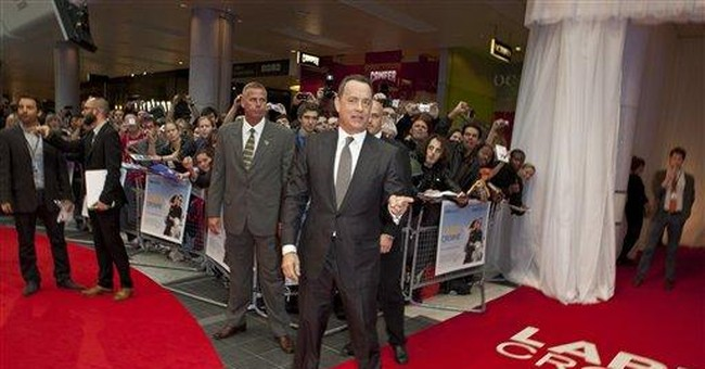 Tom Hanks launches new film at London premiere