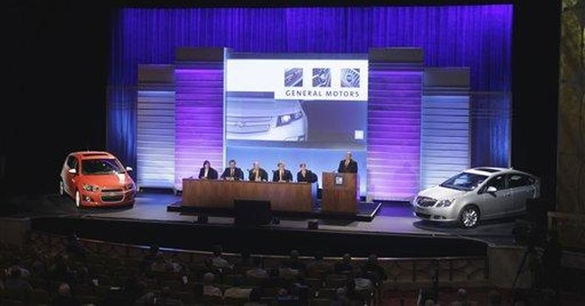 GM CEO concerned about economy, deficit
