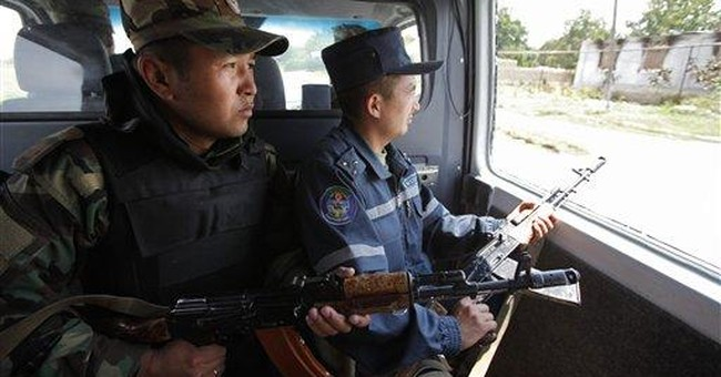 Calm belies ethnic tension in southern Kyrgyzstan