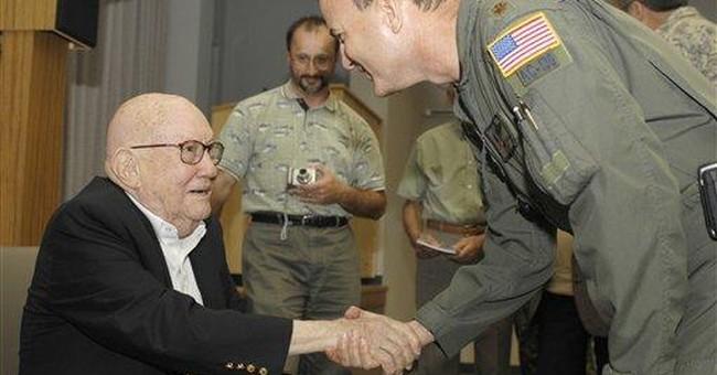 John Alison, daring WWII ace, dies in DC at 98