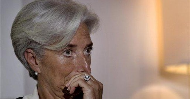 Lagarde in China on campaign for IMF top job