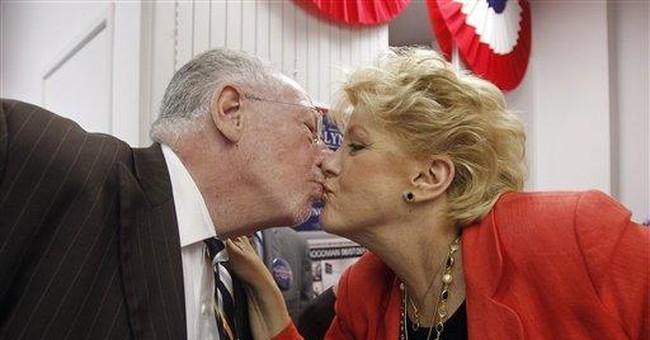 Vegas mayor's wife gets to prolong Goodman's glory