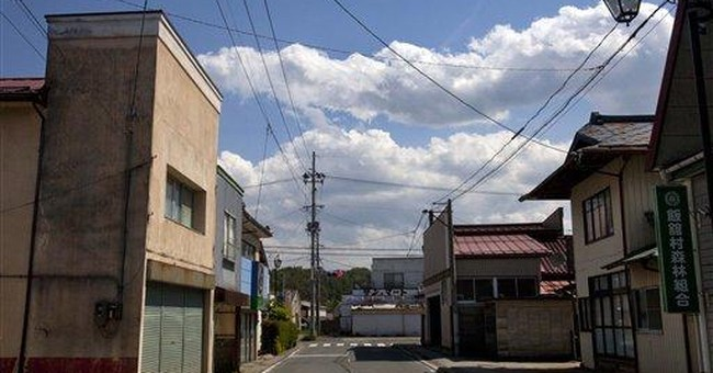 Japanese village's nuclear reality sets in slowly