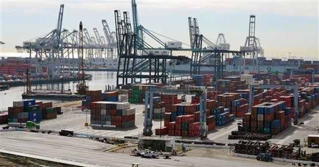 Trade deficit narrows in April to $43.7 billion