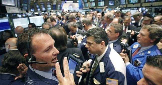 Slow economy weighing on stock market, finally