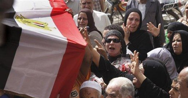 Last victims of Egypt's uprising buried in Cairo