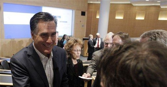 Romney defends himself in Mich. over auto bailout