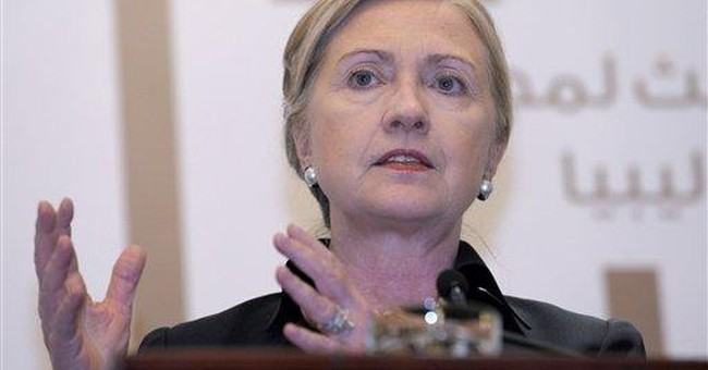 State Department says Clinton not going anywhere