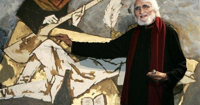 India's most prominent painter, M.F. Husain, dies