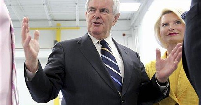 Gingrich wife under scrutiny in campaign upheaval
