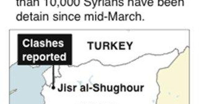 Hostile Syrian border region challenges regime
