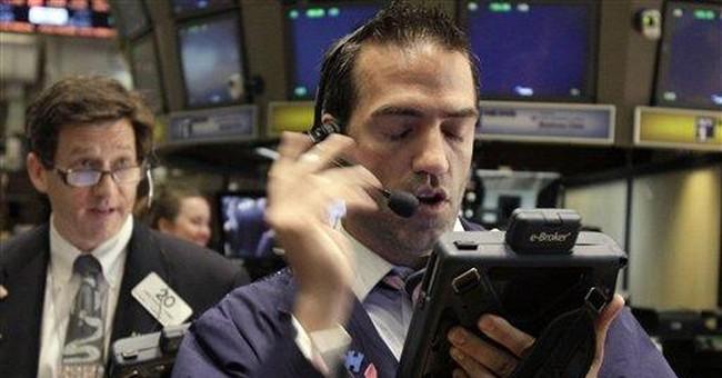 Dow falls below 12K; stocks drop 6 weeks straight