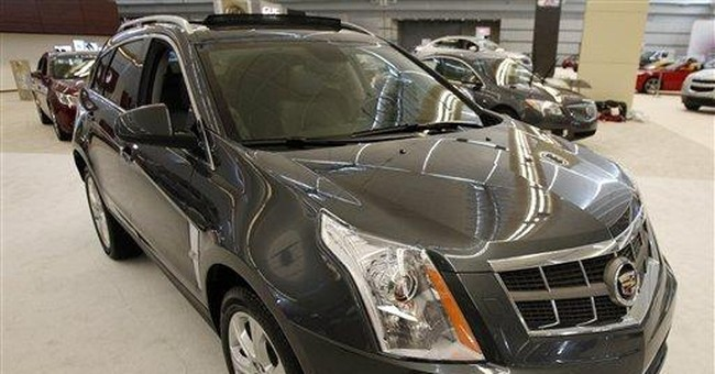 GM to recall 47,000 Cadillac SRXs to fix air bags