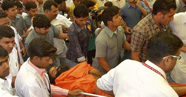 Fasting Indian yoga guru stable in hospital