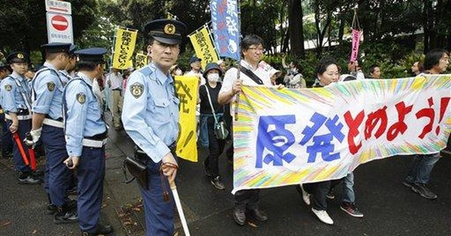 Anti-nuke protests in Japan, 3 months after quake