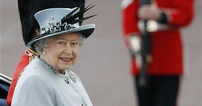 Troops celebrate Queen's birthday