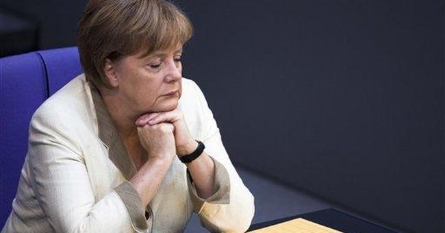 Merkel: debt crisis mustn't endanger economy