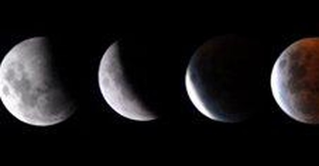 Total lunar eclipse next week, not visible in US