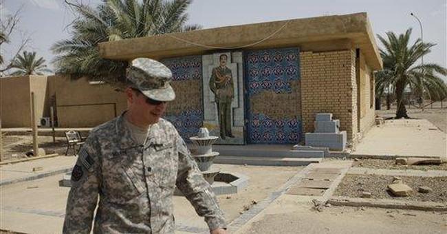 Bye-Bye bidets! US troops leaving Saddam palaces