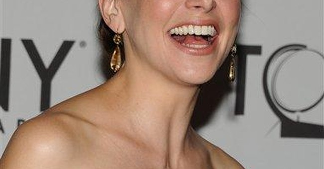 Sutton Foster wins best actress in a musical Tony
