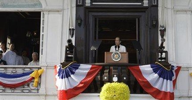 Philippine leader: graft-tainted projects stopped