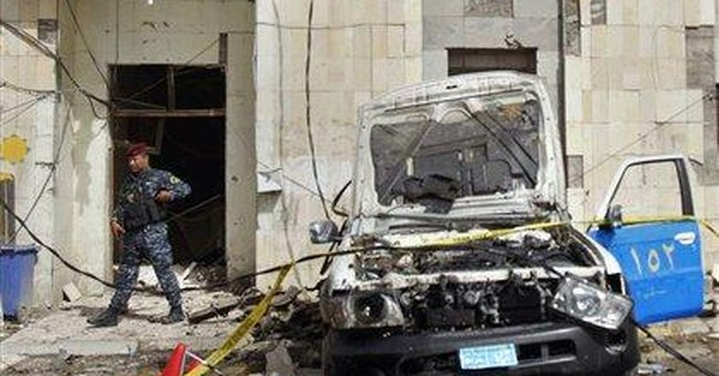 Suicide bomber kills 5 people in southern Iraq