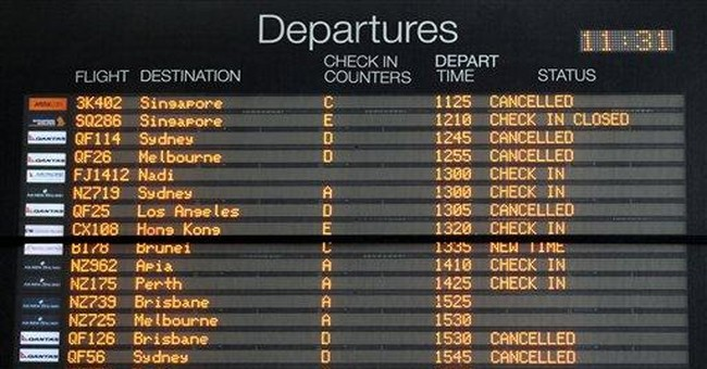 Some Aussie flights resume but ash cloud not clear