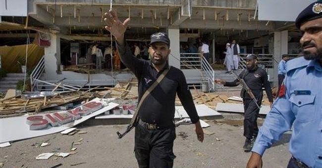Rare suicide attack in Pakistani capital kills 1