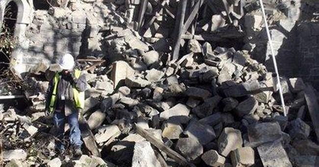 Strong quakes again rock shaken New Zealand city