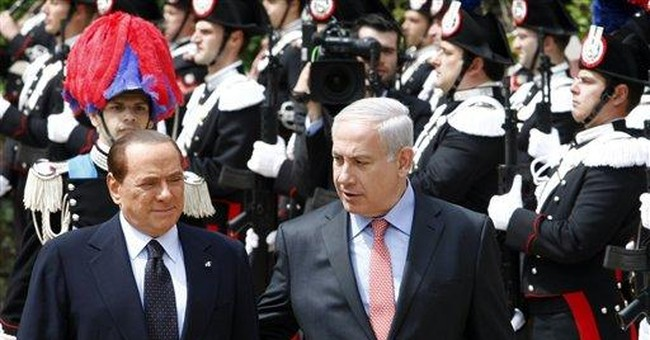 Berlusconi rejects unilateral solutions in Mideast