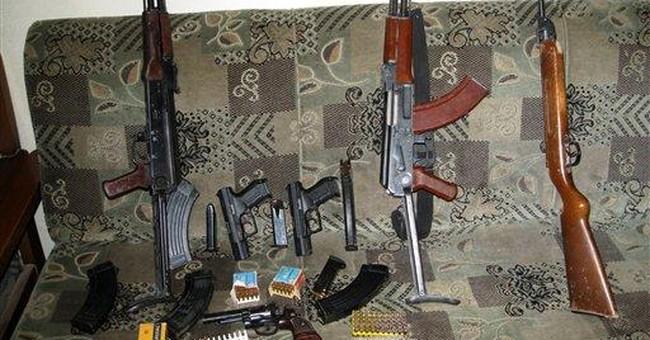 Nervous Iraqis buying more assault rifles, pistols