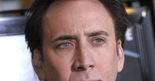 After all day meetings, Cage settles case with ex